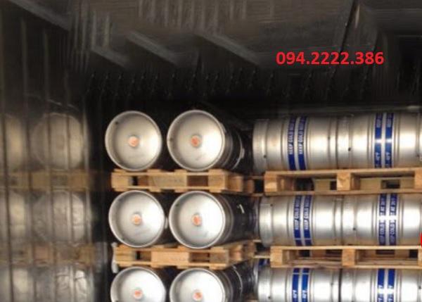 Thi công kho lạnh bảo quản bia tại khu công nghiệp Quang Minh - Vĩnh Phúc