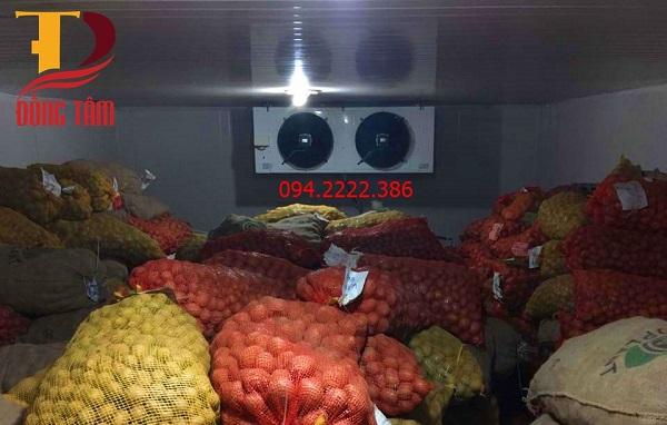 Thi công kho bảo quản khoai tây cho chú Bồng Giao Thủy - Nam định