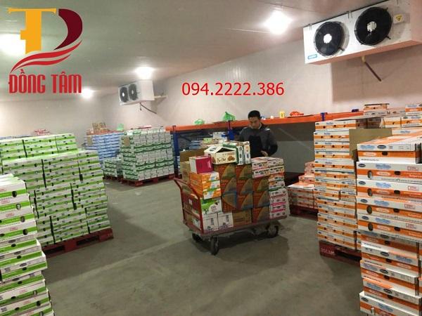 Thi công kho lạnh bảo quản sữa chua tại Công ty Phát Đạt thành phố Bắc Cạn