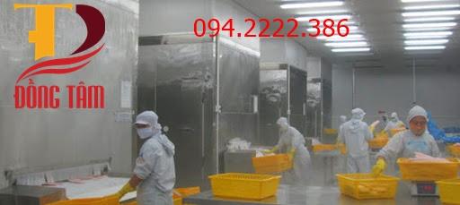 Thi công kho lạnh bảo quản hải sản cho anh Tình Vinh tại Hải Quang -  Hải Hậu - Nam Định