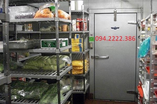 Thi công kho lạnh bảo quản thực phẩm cho Công ty Cổng Vàng khu công nghiệp Trường An - Hoài Đức - Hà Nội