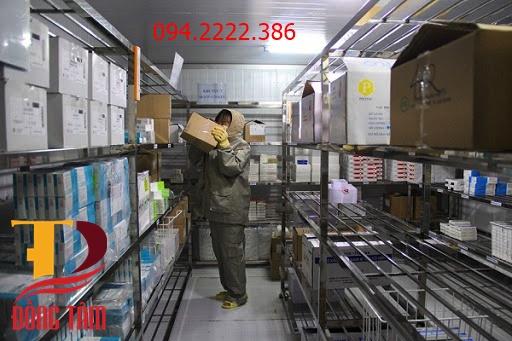 Thi công kho lạnh bảo quản vacxin cho Công ty Phúc Lộc Thọ tại Tam Dương Vĩnh Phúc